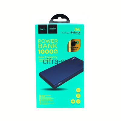 Power Bank 10000mAh J66 2USB Input PD/Micro черно-синий Hoco купить оптом | cifra-spb.ru
