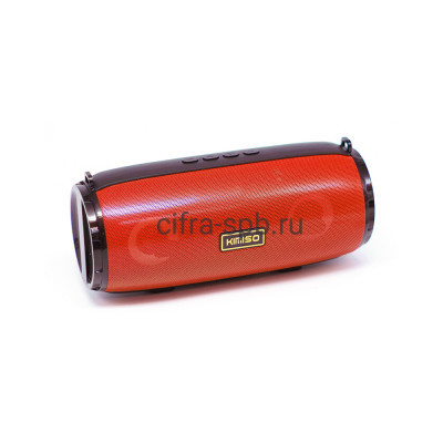 Беспроводная  колонка KM-201 красный Kimiso купить оптом | cifra-spb.ru