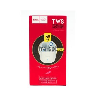 Беспроводные наушники ES45 с микрофоном белый Hoco купить оптом | cifra-spb.ru