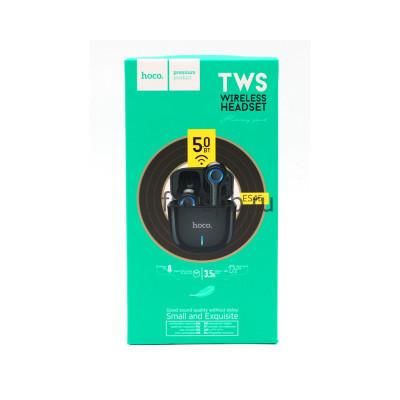 Беспроводные наушники ES45 с микрофоном черный Hoco купить оптом | cifra-spb.ru