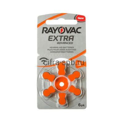 Батарейки ZA13 для слуховых аппаратов Rayovac (цена за ед.) купить оптом | cifra-spb.ru