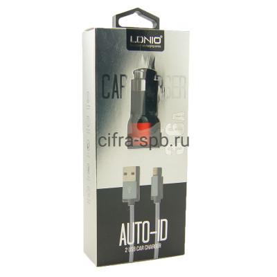 АЗУ USB C303 + кабель Lightning LDNIO купить оптом | cifra-spb.ru
