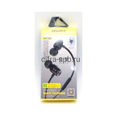 Беспроводные наушники WT30 с микрофоном черный Awei купить оптом | cifra-spb.ru