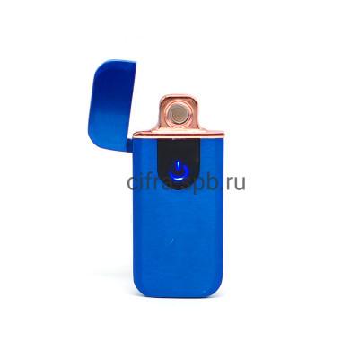 Зажигалка USB Z-7X синий купить оптом | cifra-spb.ru