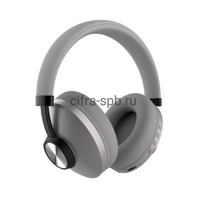 Беспроводные наушники SD-1007 с микрофоном полноразмерные серый Sodo купить оптом | cifra-spb.ru