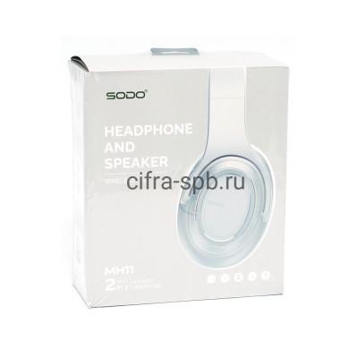 Беспроводные наушники MH11 полноразмерные с микрофоном серый SODO купить оптом | cifra-spb.ru