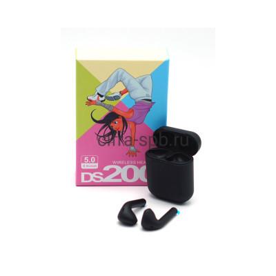 Беспроводные наушники DS200 c микрофоном черный купить оптом | cifra-spb.ru