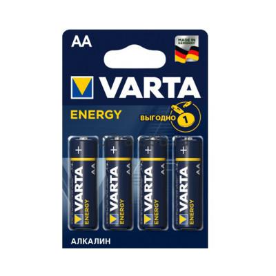 Батарейка LR6 Energy Varta 4шт. (цена за ед.) купить оптом | cifra-spb.ru