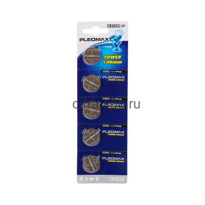 Батарейка CR2032 Samsung Pleomax 5шт. (цена за ед.) купить оптом | cifra-spb.ru