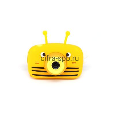 Детский фотоаппарат оранжевый + чехол Пчёлка купить оптом | cifra-spb.ru