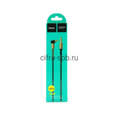 Кабель AUX UPA02 черный Hoco 1m купить оптом | cifra-spb.ru