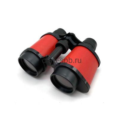 Бинокль 8*30 пластик красный Sben Bei купить оптом   cifra-spb.ru