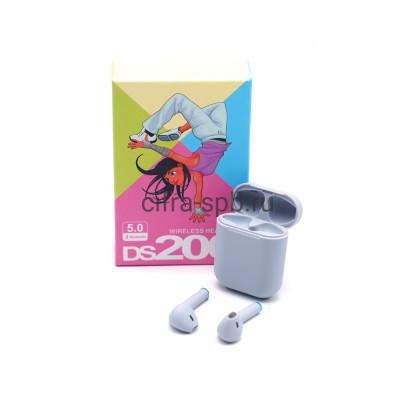 Беспроводные наушники DS200 c микрофоном серый купить оптом | cifra-spb.ru