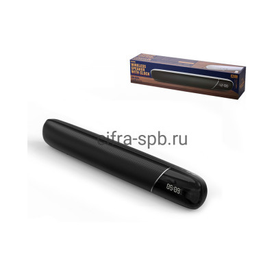 Беспроводная колонка RB-M36 + часы черный Remax купить оптом | cifra-spb.ru